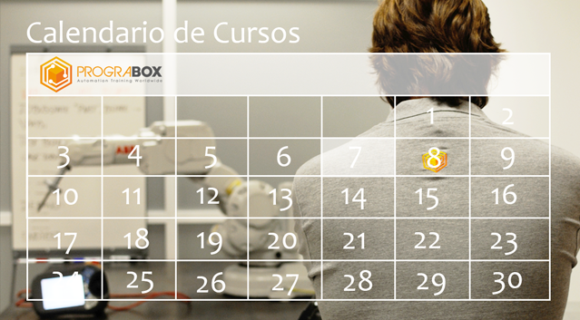 Calendario cursos prograbox