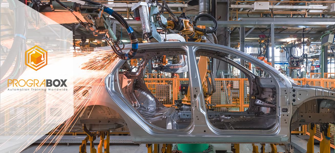 Curso soldadura robotizada industrial