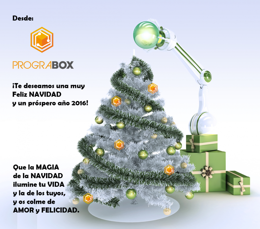 PROGRABOX FELICES FIESTAS