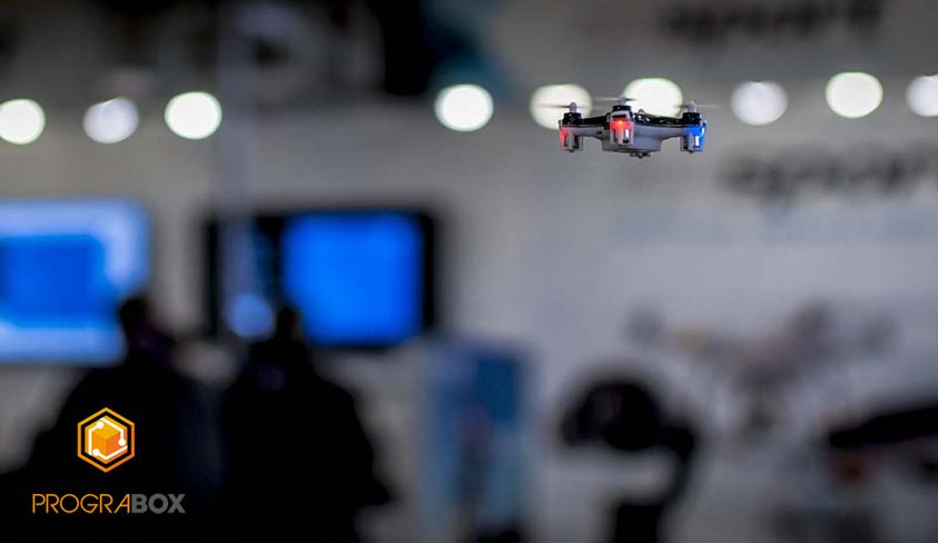 prograbox drones global robot expo