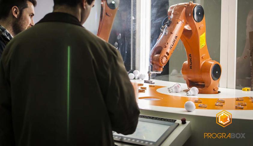 robot industrial kuka feria