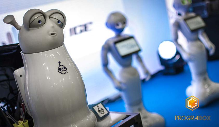 robots educacionales feria