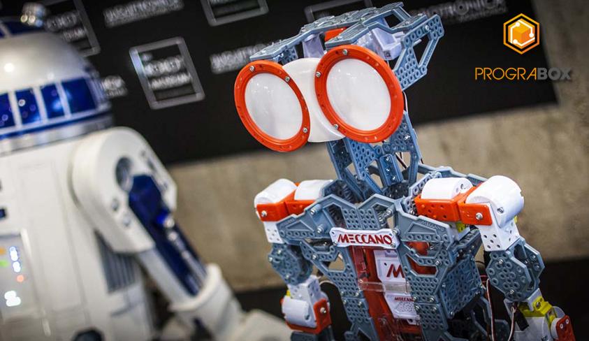 prograbox robots meccano feria robotica