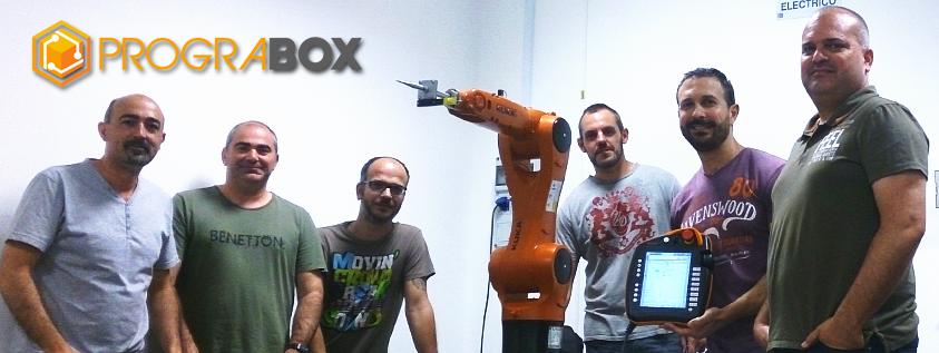 Formacion programacion robot KUKA
