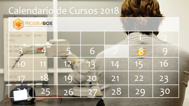 Calendario cursos 2018 prograbox
