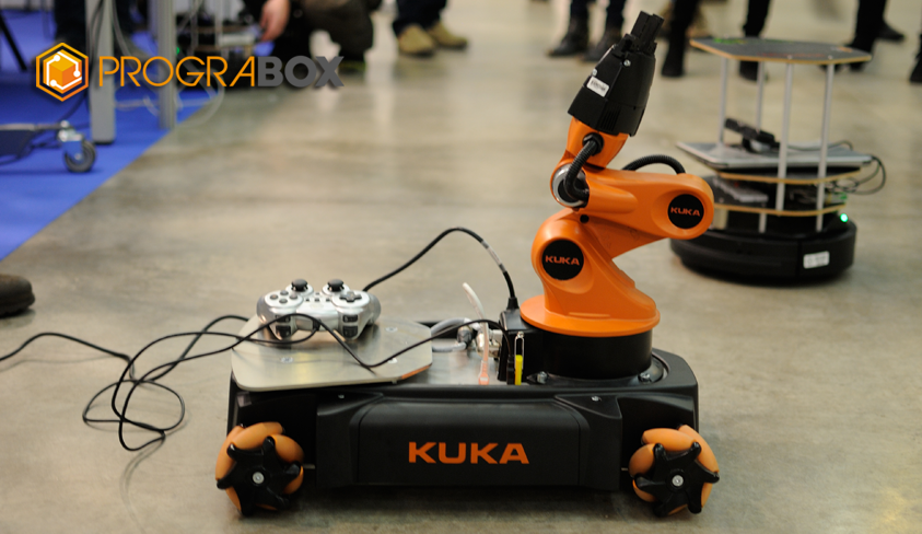 Global robot expo 2017I_KUKA