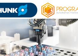 Colaboración Schunk y Prograbox