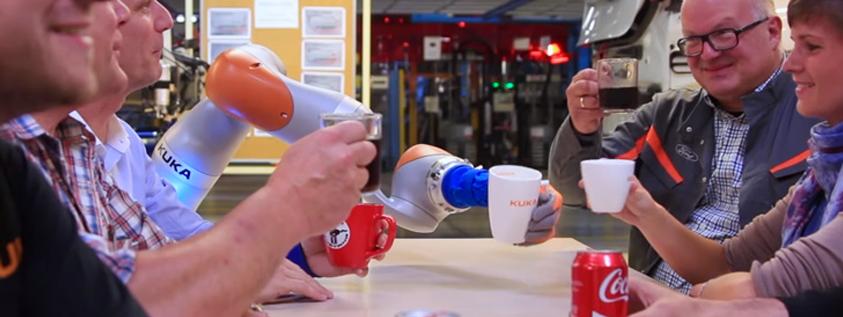 robot colaborativo ford