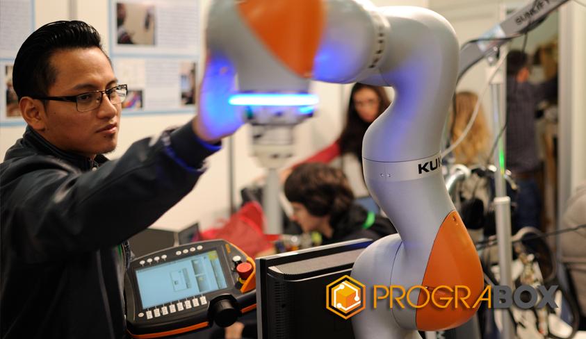 Global robot expo 2017 kuka colaborativo
