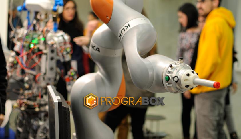 global robot expo robot colaborativo