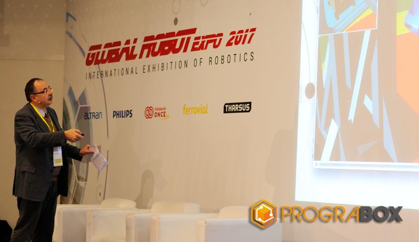 conferencia Comau Global robot Expo 2017