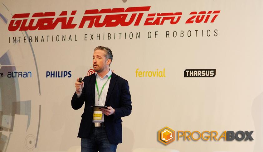 conferencias Global Robot Expo 2017