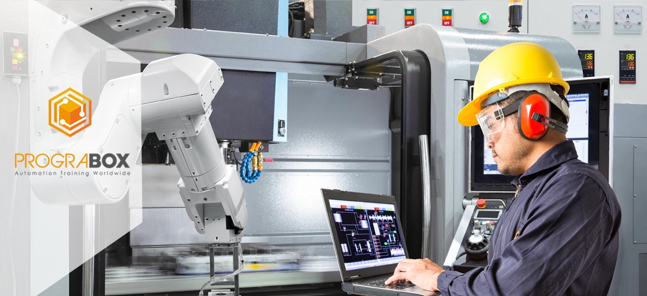 Curso empresas automatizacion PLC y robots